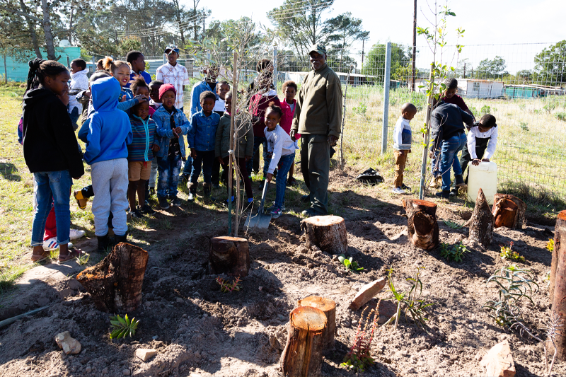 Lalibela Game Reserve - Community Outreach - Tree Planting