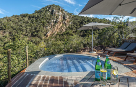 Lalibela Game Reserve - Inzolo Lodge - Swimming pool