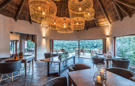 Lalibela Game Reserve - Inzolo Lodge - Dining Room