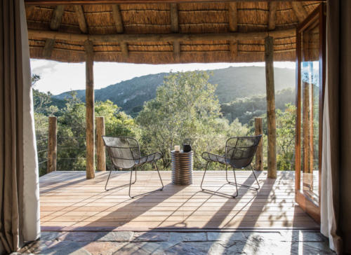 Lalibela Game Reserve - Inzolo Lodge - View from bedroom